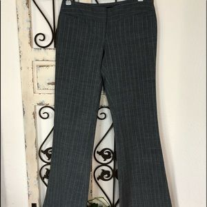 Express publicist gray pin striped pants